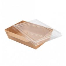 Бумажная упаковка для суши Крафт DG-700 мл, 200 шт/уп