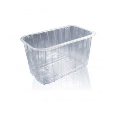 Блистерная одноразовая упаковка для ягод HF 190х115х110 мм (для 1 кг) 500 шт/ящ