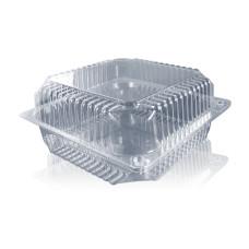 Одноразовая упаковка для пирожных и тортов ПС-54 на 2500 мл, 110 шт/уп