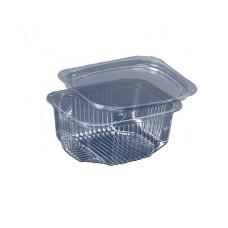 Упаковка для салата одноразовая ПС-170 на 500 мл, 600 шт/уп