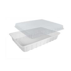 Упаковка для суши ПС-61 (дно белое), 180 шт/уп