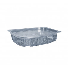 Упаковка для салата одноразовая ПС-143 на 500 мл, 600 шт/уп