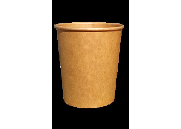 Крафтовый одноразовый стакан CRAFT 185 мл 50 шт/уп