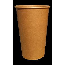 Крафтовый одноразовый стакан CRAFT 340 мл 50 шт/уп