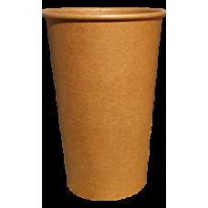 Крафтовый одноразовый стакан CRAFT 500 мл 50 шт/уп