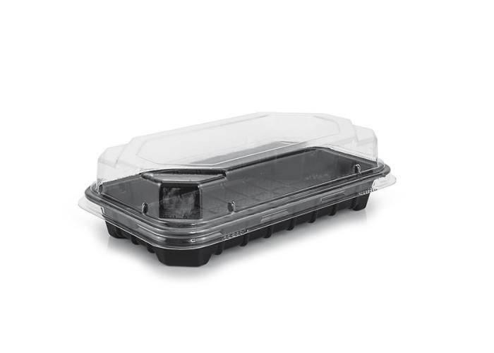 Упаковка для доставки суши и роллов ПС-67, 750 шт/уп