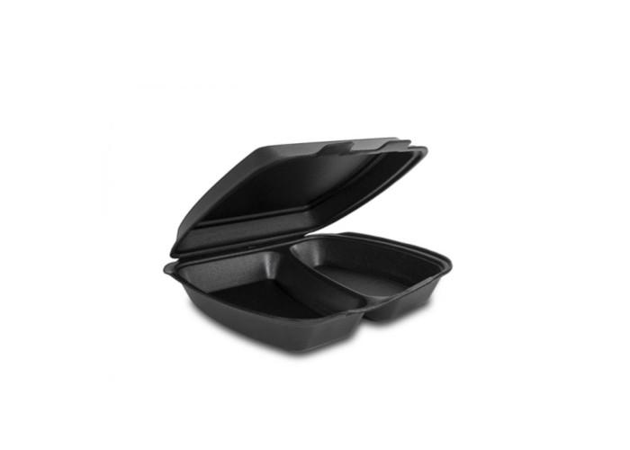 Ланч-бокс HP-2 черный (графит)