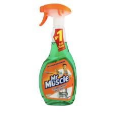 Mr Muscle средство для мытья стекол и зеркал 0.5 л