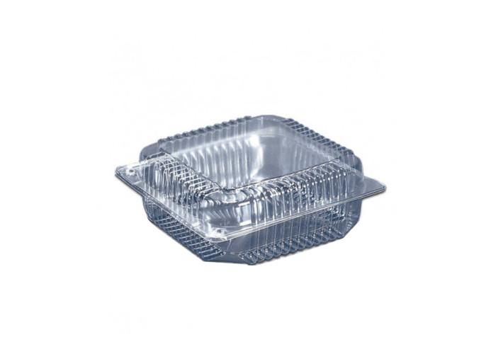 Одноразовая упаковка для пирожных и тортов ПС-53 на 2250 мл, 110 шт/уп