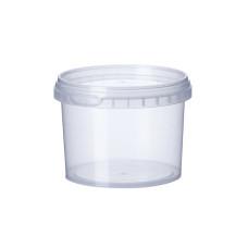 Банка прозрачная Vital Plast для пищевых продуктов 350 мл, 700 шт/уп