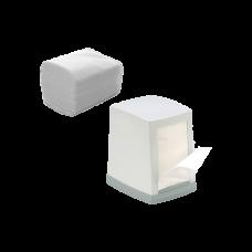 Салфетка диспенсерная белая 1/4 сложения 1500 шт/уп