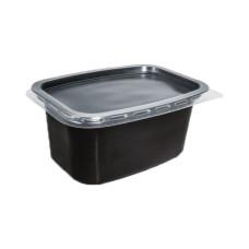Одноразовая пищевая упаковка для первых и вторых блюд ПС-116дч - 500 мл