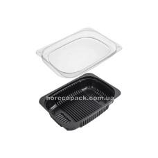 Упаковка для салата одноразовая ПС-143дч на 500 мл, 600 шт/уп