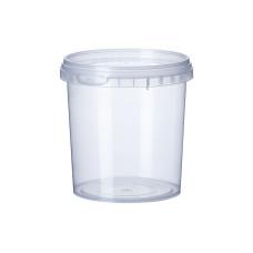 Одноразовая герметичная упаковка для первых блюд Vital Plast Банка - 500 мл, 400 шт/уп