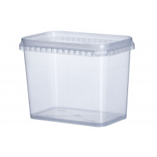 Судок прозрачный Vital Plast для пищевых продуктов 1 л, 350 шт/уп