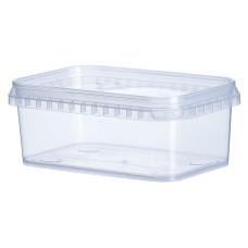 Судок прозрачный Vital Plast для пищевых продуктов 500 мл, 400 шт/уп